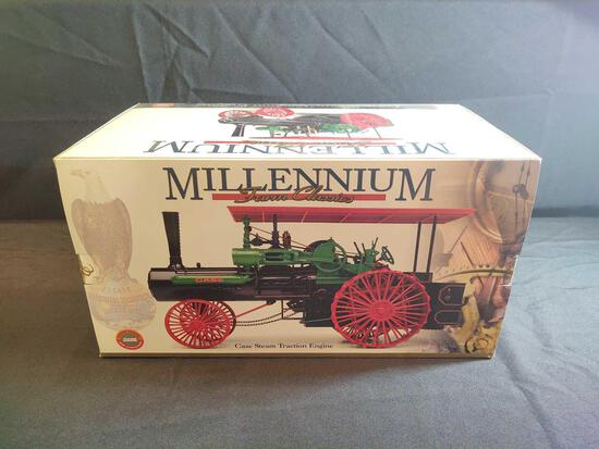 Ertl Millennium Farm Classics Case Steam Traction Engine