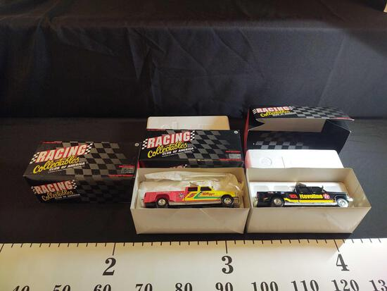 3 Racing Collectibles Club of America 1:24 Diecast Banks