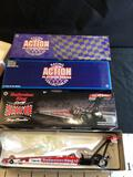 3 Action 1:24 Scale Top Fuel Dragsters