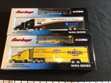 2 Corgi Race Image 1:64 Scale Transporters and Dragsters