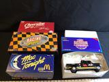 4 Winston Cup, Mac Tools & Action 1:24 Scale Dually Banks