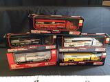 5 Racing Champions 1:64 Scale Transporters