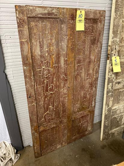 Early wood cupboard door