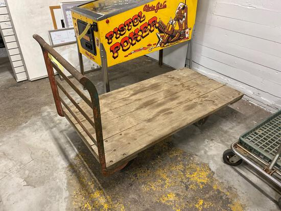 Industrial cart 30.5 inches x 60 inches