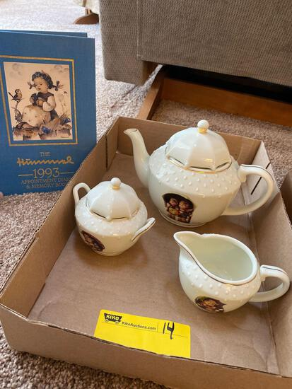 Hummel tea set