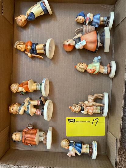10 goebel figurines
