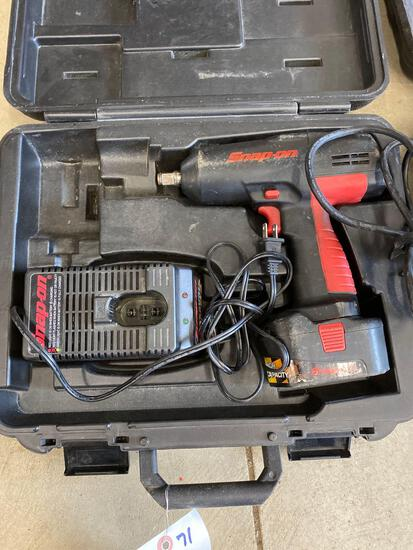 Snap-On battery operated impact