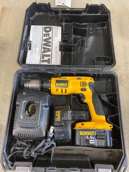 DeWalt XRP 14.4V cordless drill