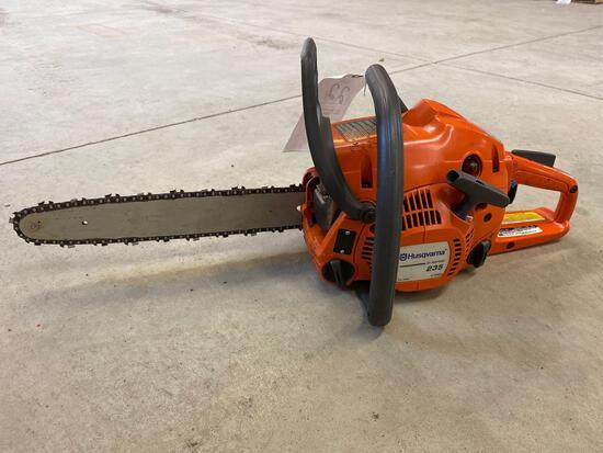 Husqvarna 235 chain saw