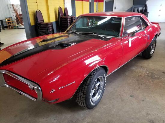 1968 Pontiac 350 Firebird, 93,007 miles