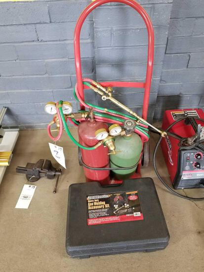 Small oxy acetylene outfit