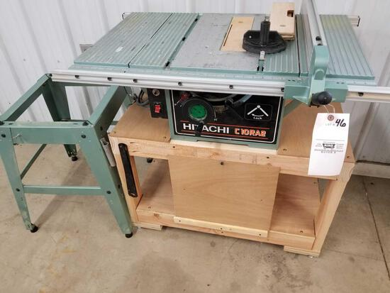 Hitachi C10RA2 table saw