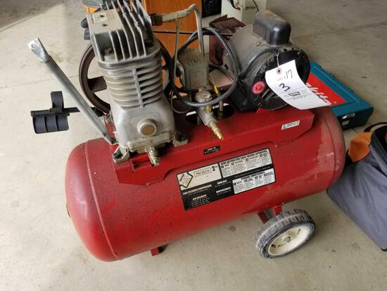 Sears 2 hp air compressor