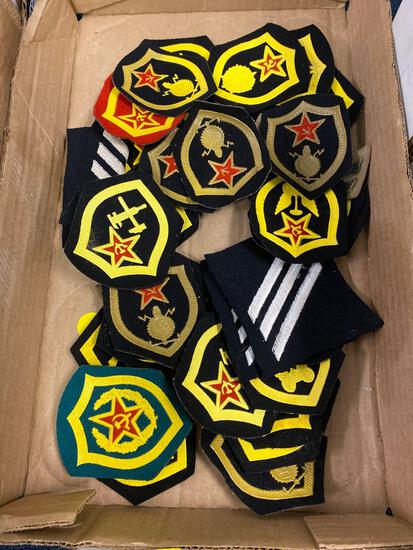 1 flat military badges