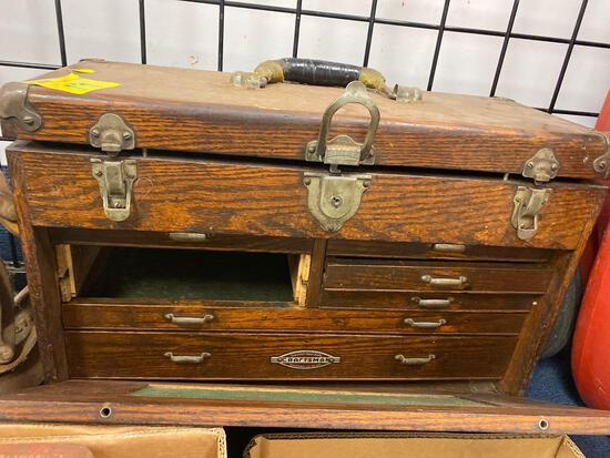 Craftsman wood toolbox