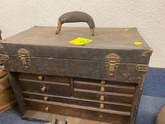 Early toolbox made in Ohio