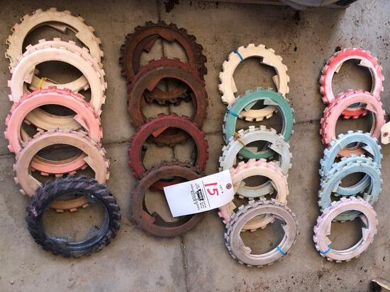 19 sets Ford 209 seed disks