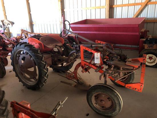 "Allis Chalmers ""G"" Tractor w/ potato plow"
