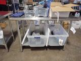 Steelton 4 ft. Stainless Steel Table