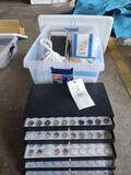 Box of Mostly Swarovski Nail Crystals, some additional brands, Toe Rope