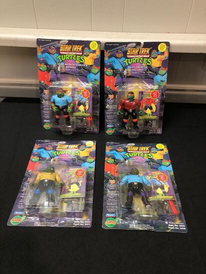 Teenage Mutant Ninja Turtles, Star Trek Action Figures, TMNT, MOC