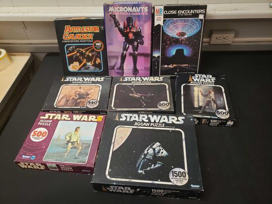'70s Puzzles (Star Wars, Micronauts, Battlestar Galactica)