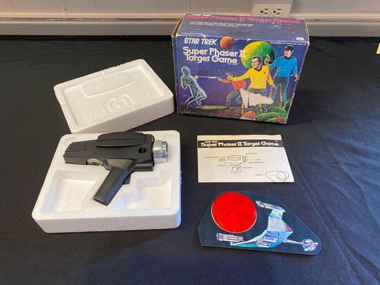 Mego Star Trek Super Phaser Target Game