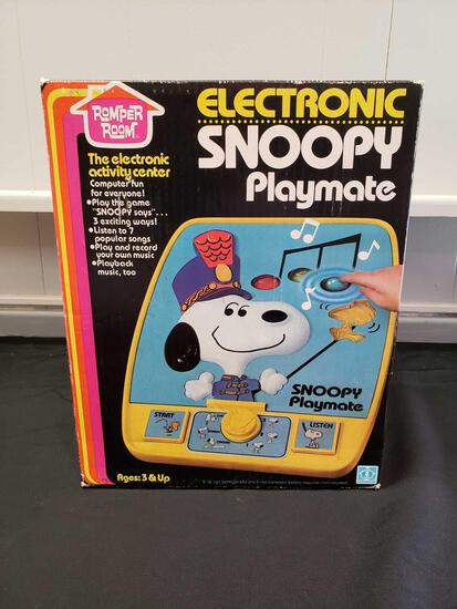 Electronic Snoopy Playmate Romper Room the electric activity center (factory sealed)