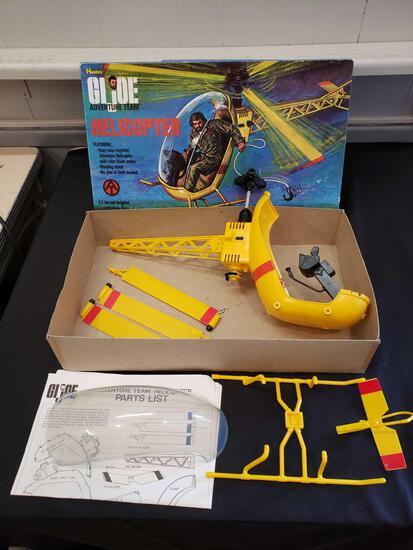 1971 Hasbro GI Joe Adventure Team Helicopter