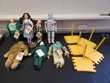 The Wizard of Oz dolls (Division of Hamilton Gifts)