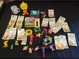 Cabbage Patch Kids Stamps, Smurfs, Marvel superhero, Betty Boop watch