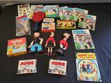 Popeye the Sailor Man collectible lot