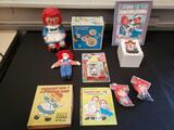Raggedy Ann and Andy collectible lot