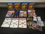 Marvel lot includes pin sets, pens, wallet, remco Spiderman, Sercret Wars