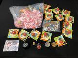 Jack Set Games, Plastic Rings, Yo-Yo, Marbles