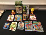 Looney Tunes Road Runner, Bendems Frankenstein and Rocketeer, Playskool Potato Head Kids