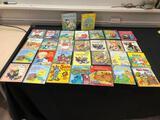 30 Little Golden Books, Sesame Street, Alice in Wonderland