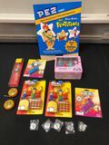 Pez Candy Dispensers, Cleveland Pez-a-mania, Hello Kitty, Flintstone Display, Yo-Yo, Seeing Eyeball