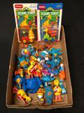 Muppets, Sesame Street, Toys, Figures