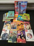 Vintage TV guides, kids books, collector books, Fonzy
