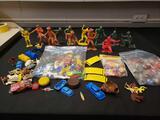 Vintage marks plastic figure, playset figure, vending machine prizes