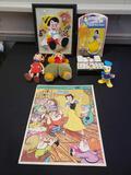 Disney Pinocchio, Snow White lot