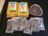 Oreo cookie blowup premiums, Yogi Kellogs VCR tapes