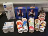 Pillsbury Doughboy, Wendy's, McDonald's, Bob's Big Boy advertising lot