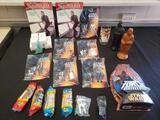 Star Wars, action figures, Pez, kenner