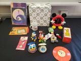 Walt Disney collectibles (Pluto, Cinderella)