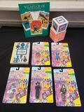 The Wizard of Oz action figure, bank, books