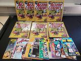 (7) Action comics, comic books