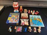 Hanna-Barbara Flintstones toy lot