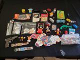 Novelty toy lot including Michael Jackson
